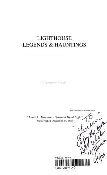 Lighthouse Legends   Hauntings PDF