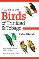 A Guide to the Birds of Trinidad   Tobago PDF