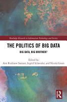 The Politics and Policies of Big Data PDF
