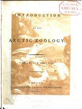 Arctic Zoology: Volume 3