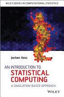 An Introduction to Statistical Computing PDF