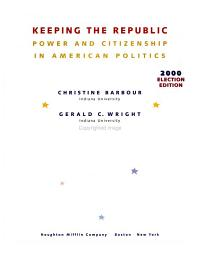 Keeping the Republic Election Edition Book