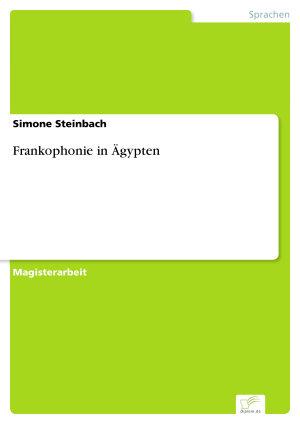 Frankophonie in   gypten PDF
