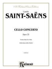 Cello Concerto, Opus 33: For Viola and Piano