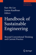 Handbook of Sustainable Engineering PDF