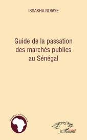 Guide de la passation des marchés publics au Sénégal