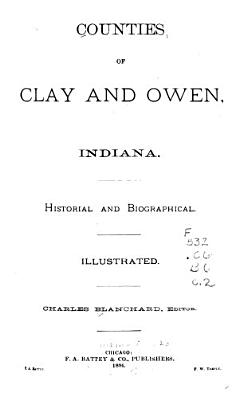 Counties of Clay and Owen  Indiana