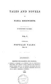 Popular Tales: Volume 5