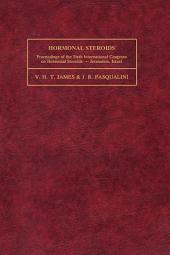 Hormonal Steroids: Proceedings of the Sixth International Congress on Hormonal Steroids