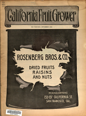 California Fruit News: Volume 44, Issue 1209