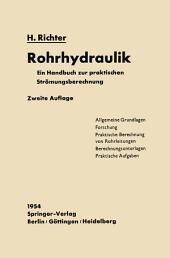 Rohrhydraulik: Ein Handbuch zur praktischen Strömungsberechnung, Ausgabe 2