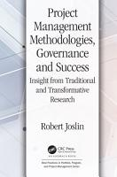 Project Management Methodologies  Governance and Success PDF