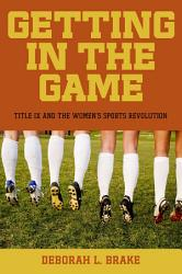 Getting in the Game PDF