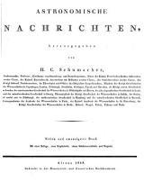 Astronomische Nachrichten: Volume 27
