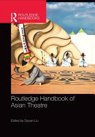 Routledge Handbook of Asian Theatre PDF
