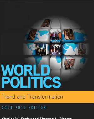 World Politics  Trend and Transformation  2014   2015  Book Only  PDF