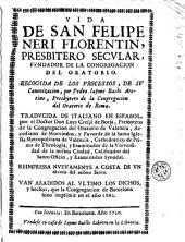 Vida de San Felipe Neri...