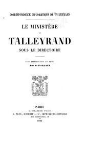Correspondance diplomatique: Volume2