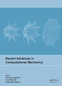 Recent Advances in Computational Mechanics PDF