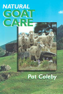 Natural Goat Care PDF
