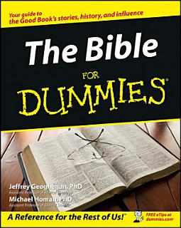 The Bible For Dummies Book