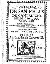 Vida de San Felix de Cantalicio
