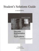 Student s Solutions Guide for Discrete Mathematics and Its Applications PDF