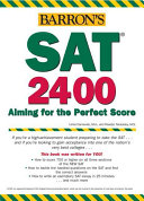 Barron s SAT 2400 PDF