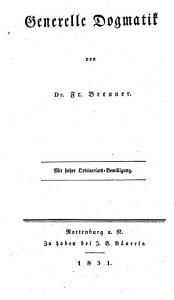 Katholische Dogmatik PDF