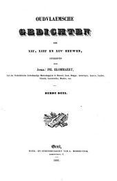Oudvlaemsche gedichten der XIIe, XIIIe en XIVe eeuwen: Volume 3
