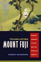 Translating Mount Fuji PDF