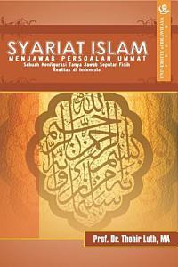 Syariat Islam Menjawab Persoalan Ummat PDF