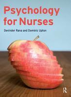 Psychology for Nurses PDF