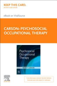 Psychosocial Occupational Therapy   E Book