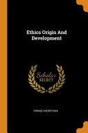 Ethics Origin and Development PDF