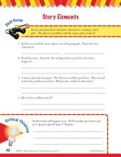 Read & Succeed Comprehension Level 3: Story Elements Passages and Questions