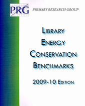Library Energy Conservation Benchmarks