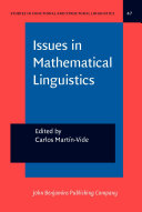 Issues in Mathematical Linguistics