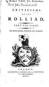 Criticisms on the Rolliad: Part the First