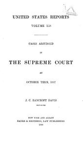 United States Reports: Cases Adjudged in the Supreme Court, Volume 168