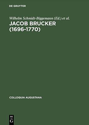 Jacob Brucker  1696   1770  PDF