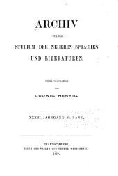 Archiv für das Studium der neueren Sprachen und Literaturen: Band 61