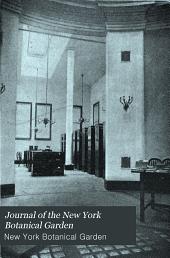 Journal of the New York Botanical Garden: Volume 1