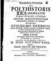 Diss. qua polyhistoris idea delineatur