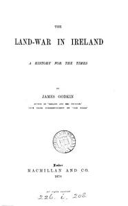 The land war in Ireland  a history for the times PDF