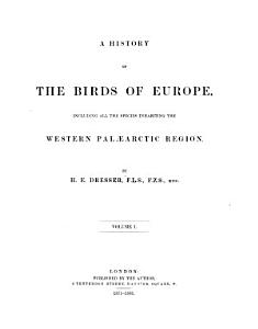A History of the Birds of Europe PDF