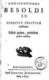 Synopsis politicae doctrinae