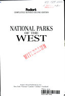 Fodor s National Parks of the West PDF