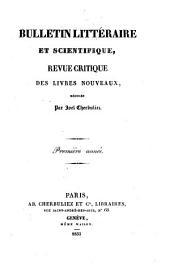 Revue critique des livres nouveaux