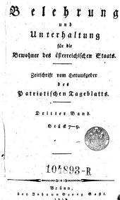 Hesperus oder Belehrung und Unterhaltung für die Bewohner des österreichischen Staats von Christian Carl Andre: Band 3